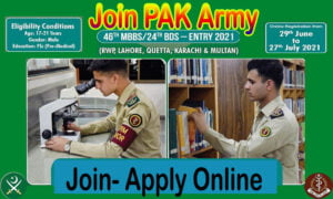 Join the Army as a Doctor Medical Cadet Course 2021