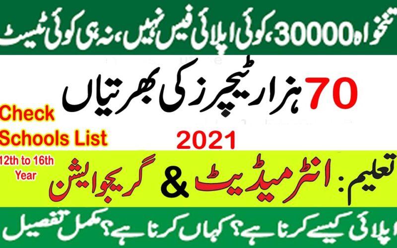 New educator jobs 2021 Teacher vacancies 70000, Apply now