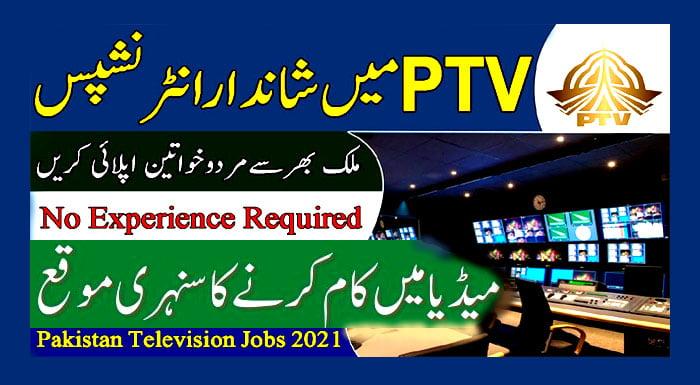 New Internship PTV program 2021